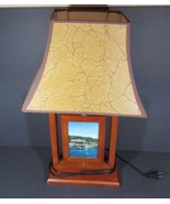 Provincetown  MA Great Looking Desk Lamp with Rotating Center - $36.47