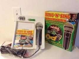 Plug 'N' Sing Karaoke System by Emerson - $25.25