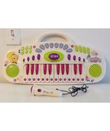 RARE Polly Pocket 24 Key Kids Keyboard With Microphone - €13,36 EUR