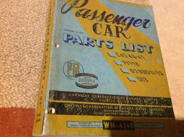 1950 1951 52 53 Chrysler Car Parts List C45 46 47 P17-18 S13 D29-30-31-3... - $108.85