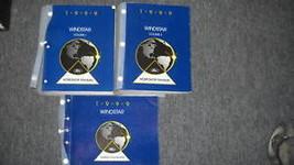 1999 FORD WINDSTAR VAN Service Shop Repair Manual Set W Wiring Diagram EWD - $118.75