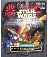 Star Wars Episode 1 Electronic GUNGAN CATAPULT ACCESSORY SET NEW! w/Lights - $11.96