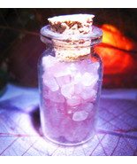 Haunted CREATE YOUR OWN MAGICKAL SEXY BEAUTY ROSE QUARTZ CRYSTALS VIAL Cassia4  - $53.77