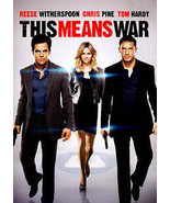 THIS MEANS WAR DVD - $1.90