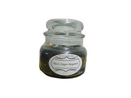 black pepper and bergamot 8 oz. granite look candle - €12,03 EUR