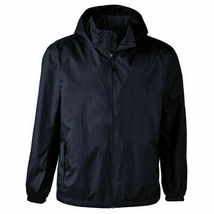 Maximos Men's Water Resistant Lightweight Windbreaker Rain Jacket w/ Defect XL image 3