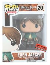 Attack On Titan Eren Jaeger #20 Funko POP Vinyl Figure Hot Topic exclusive - $59.99
