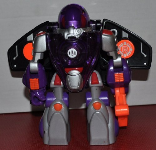 Astrobot Space Robot - Robo Team (Retired) Rescue Hero - Fisher Price Action Fig