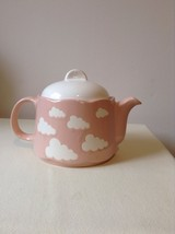 Waechtersbach Germany *rare* Pink Cloud Tea Pot Kitschy Unique - $37.08
