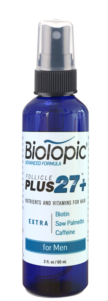Biotopic, Natural Hair Loss Treatment for Men with Thinning Hair (for Men)