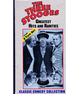 VHS - The Three Stooges  Greatest Hits And Rarities (2 Tape Set) - $4.95