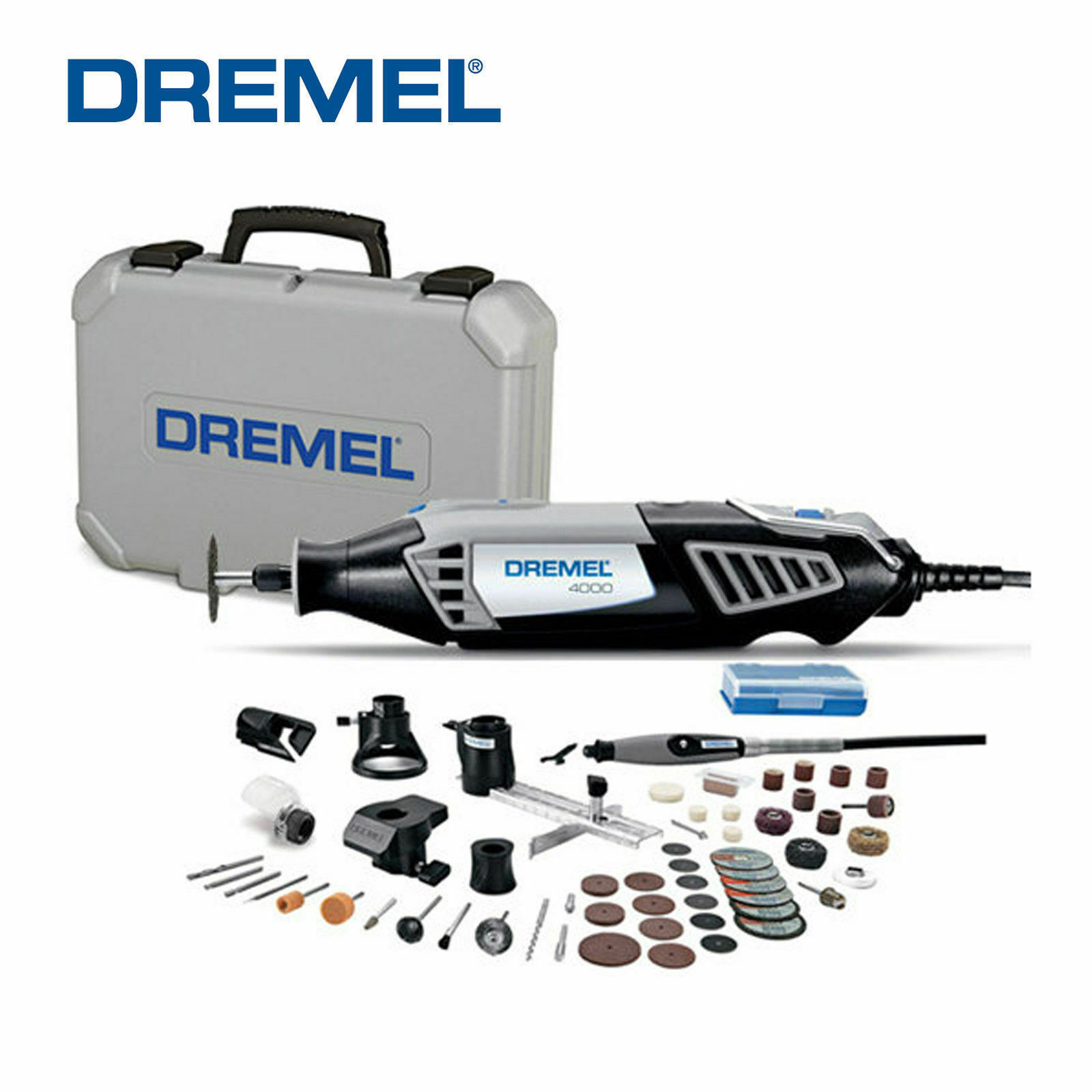 DREMEL 4000-6/50 Variable Speed Rotary Tool Kit w/ 50 Accessories -- 220V