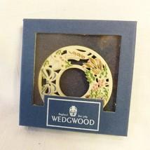 "Wedgwood 1996 ""Noel"" Christmas Wreath Ornament - $17.80"