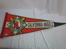 "California Angels Felt Pennant Official Licensed Wincraft 12"" x 29.5"" - $14.24"