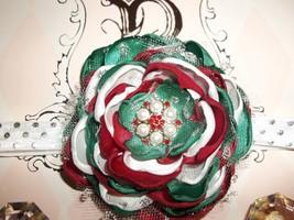 Baby Girl/Toddler Handmade Christmas Headband - $12.00