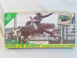 Humps & Horns 1998 Rodeo Board Game Complete New Open Box - $28.07
