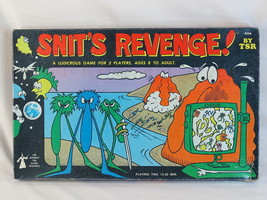 Snit's Revenge! 1980 Board Game TSR Games 100% ... - $58.17