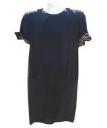 Bill Blass Black Short Sleeve Dress - $20.00