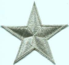 Star hippie 70's retro boho disco fab superstar applique iron-on patch n... - $2.98