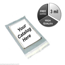 """3000 3 Mil Clear View Poly Mailer 6"""" x 9"""" Shipping Mailing Envelope Bags - $96.18"""