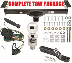 Complete Trailer Receiver Tow Hitch Package ~ Fast Shipping ~ Easy Installation - $163.35