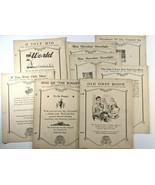 8 Vintage Oahu Publishing Orchestra for Hawaiian Guitar Sheet Music 1920... - $31.45