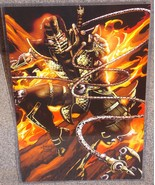 Mortal Kombat Scorpion Glossy Print 11 x 17 In ... - $24.99