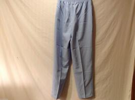 LT by Liz Thomas Light Blue 100% Polyester Elastic Waist Pants, size 12 image 2
