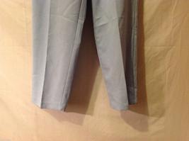 LT by Liz Thomas Light Blue 100% Polyester Elastic Waist Pants, size 12 image 4
