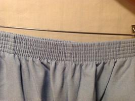 LT by Liz Thomas Light Blue 100% Polyester Elastic Waist Pants, size 12 image 7