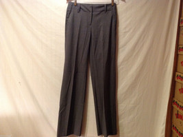 New York & Company Womens Polyester Rayon Blend Gray Stretch Pants, size 0 Tall