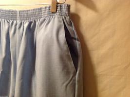 LT by Liz Thomas Light Blue 100% Polyester Elastic Waist Pants, size 12 image 6