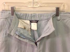 Woolrich Women's Size 12 Straight Leg Pants Light Mint Green Trousers Slacks image 3