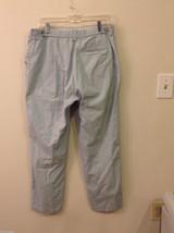 Woolrich Women's Size 12 Straight Leg Pants Light Mint Green Trousers Slacks image 4