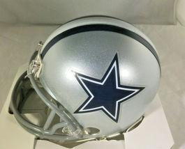TONY DORSETT / NFL HALL OF FAME / HAND SIGNED DALLAS COWBOYS CUSTOM JERSEY / COA image 3