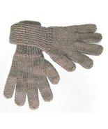 Alpakaandmore Women Hand-knitted Gloves Alpaca ... - $22.77