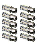 E Support™ 10Pack 1156 7506 1003 1141 LED SMD 18 LED Bulbs Interior RV ... - $12.86