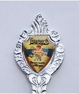 Collector Souvenir Spoon USA Washington Leavenw... - $4.99
