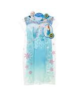 Disney Frozen Fever Elsa Princess Queen Play Party Dress Halloween Costu... - $24.99