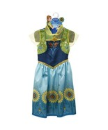 Disney Frozen Fever Anna Princess Play Party Girls Dress Halloween Costu... - $25.99