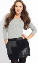 NWT $140  DESIGUAL Sistole Mini Skirt  Wool Siz... - $97.97