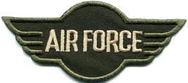 U.S. Air Force military insignia war biker retro applique iron-on patch ... - $2.79