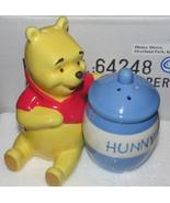 Disney Store Retired Winnie the Pooh with Hunny Pot Salt & Pepper Shaker... - $25.00