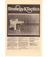Strategy & Tactics 1973 Advertisement - $10.00