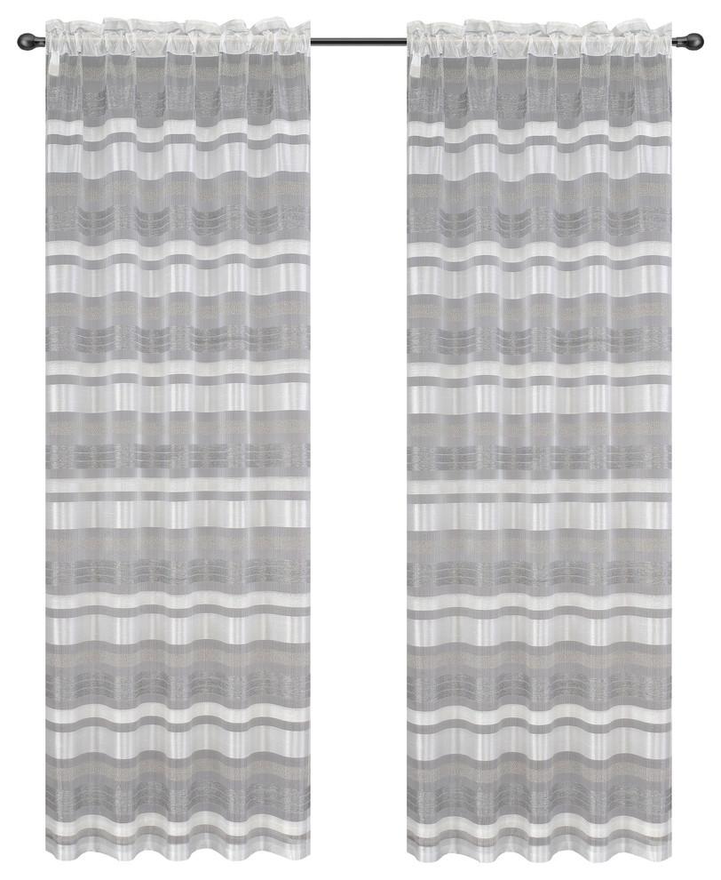 Becca Drapery Curtain Panels image 2