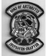 Son Of Arthritis Ibupoen Capter motorcycle Back Patch 12'' by 9'' - $29.69