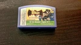 Leapster Leapfrog Batman, Age 5-7, Grade K-1st,... - $4.99