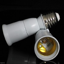E27 to E27 Extend Socket Base LED Light Bulb Lamp Holder Adapter Screw C... - $1.20