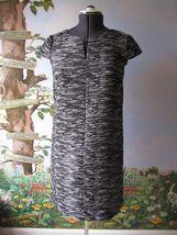 Tahari Arthur Levine Black/Ivory Cap Sleeve Dress SZ 2 NWT $128 - $99.93