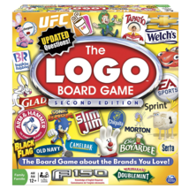 Logo Board Game 2nd Edition Spin Master Games Family Fun - $29.99